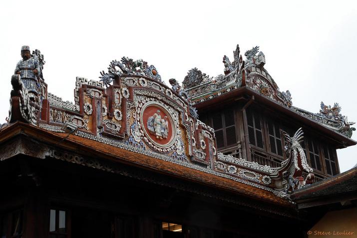 Cité impériale : la Cité pourpre interdite, la bibliothèque royale, ou pavillon Thái Bình