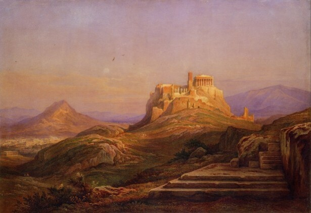 1. Rudolph Muller Acropolis from the Pnyx