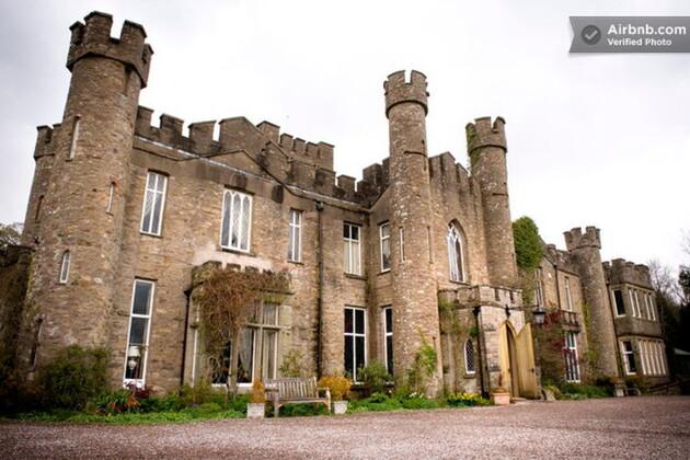 Un château du XIXe siècle en Angleterre pour 119 euros