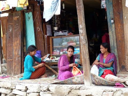 un atelier de tricot