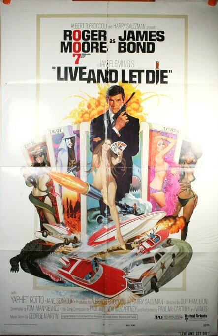 LIVE AND LET DIE BOX OFFICE USA 1973