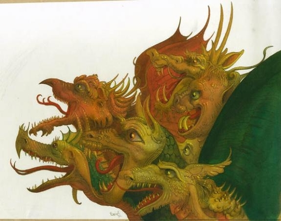 la mélopée des dragons