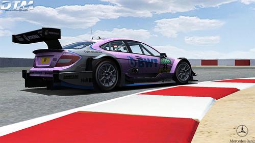 Team Art Grand Prix Lucas Auer Mercedes - AMG C-Coupe
