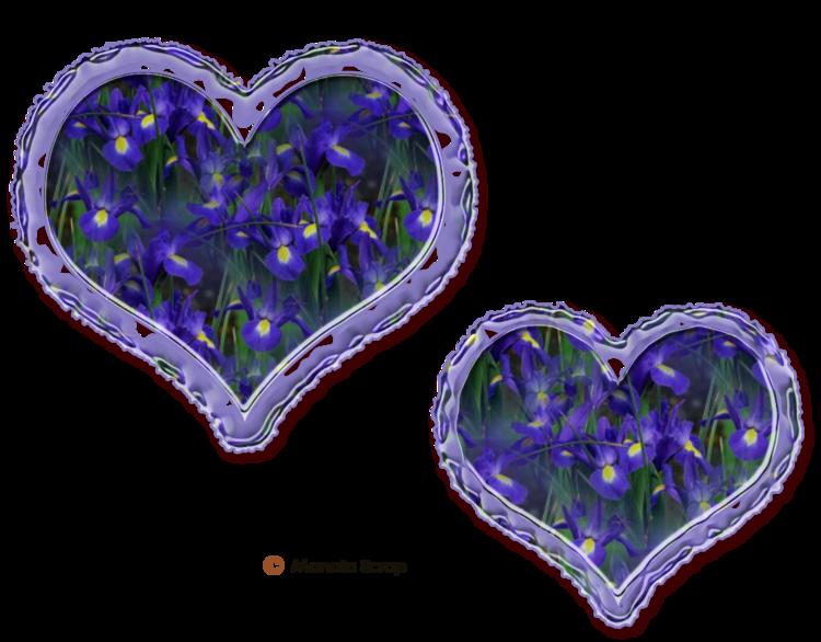 Coeurs fleurs page 1