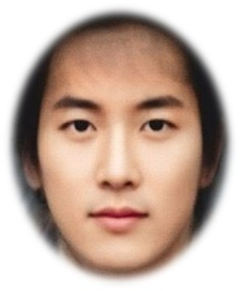 Ci-contre, un portrait-robot de ce a quoi les hommes coréens aimeraient  ressembler, selon les chirurgiens esthétiques. 283fe7bb400