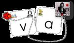 Lettres mobiles Borel Maisonny et Kimamila