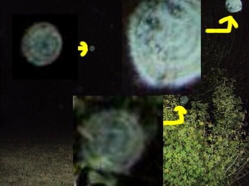 3 orbes prises par Vero