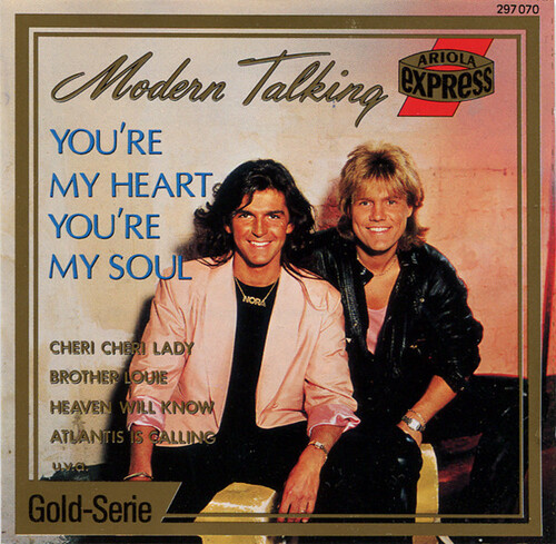 MODERN TALKING - You're the Lady of my Heart (Romantique)