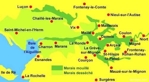 Coulon et sa Maison du Marais et l'histoire du Marais mouillé..... 3/3