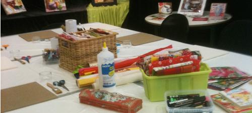 Atelier callicollage - Juin 2012