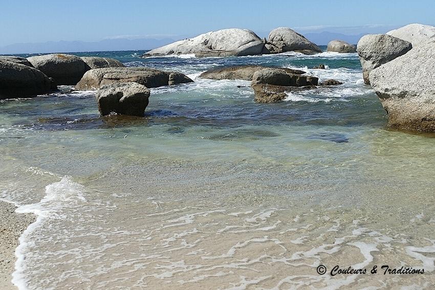Petite crique, à proximité de Boulders Beach