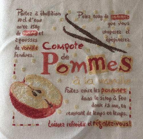 COMPOTE DE POMMES DE LILIPOINT