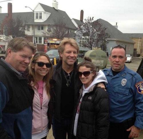 L'Ouragan Sandy / Poly Prep Benefit ... richie et jon bon jovi 2012