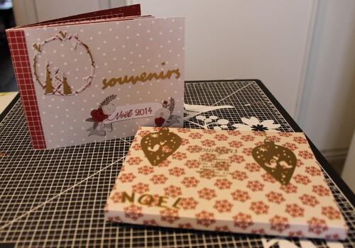 Mini album thème Noël