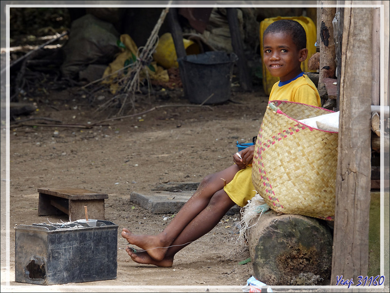 Sourires d'enfants - Antanambe - Nosy Sakatia - Madagascar