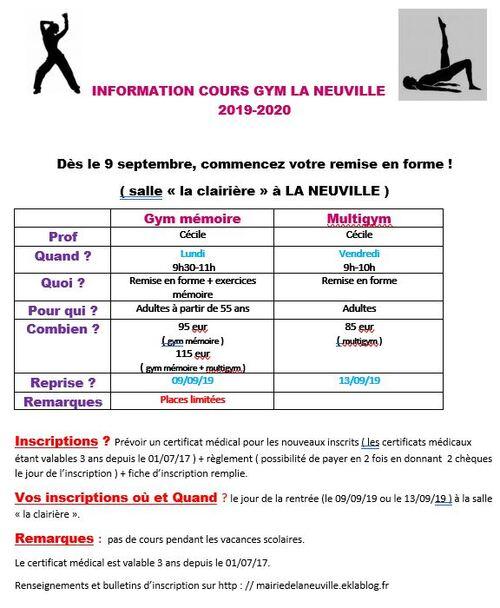Les amis de La Neuville : Découvrez les activités de la rentrée de septembre 2018.