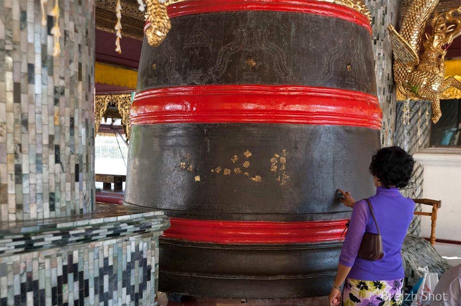 Cloche birmane - Shwedagon