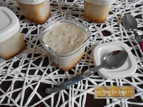 Riz au lait crémeux et son coulis caramel beurre salé