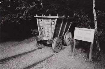 Les premiers wagons ...