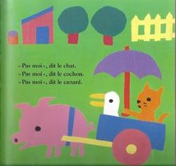 """PS/ Exploitation album """"La petite poule rousse"""" / Jeu de langage"""