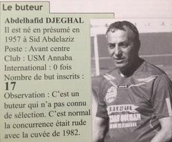 Buteur 1984/1985