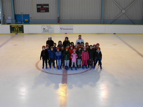 Fin de cycle patinage