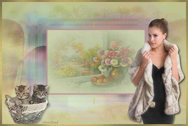 Lydia et les chatons