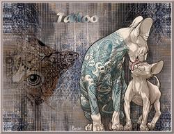 Tuto Tattoo de Sylvie Bastet