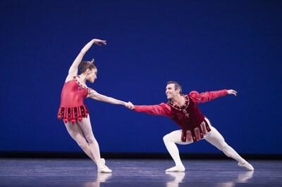 dance ballet valentines day rubies georges balanchine