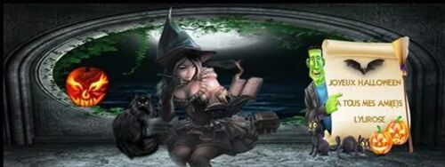 Bannières Facebook Hallowen