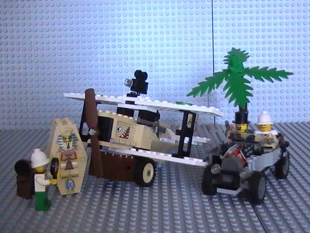Lego adventure n° 5948 de 1998 - Le raid.