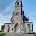 Fort-de-France - Eglise Notre-dame-du-Rosaire, la façade et le parvis - Photo : Edgar