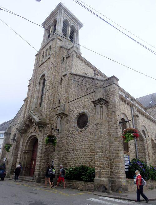l'église de Quiberon (56)