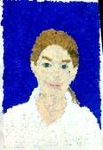 Portraits POINTILLISME