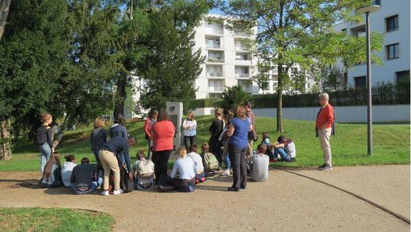 """Les élèves du Lycée Désiré Nisard de Châtillon sur Seine se sont rendus à Stuttgart étudier le thème """"Courage civique et nazisme"""""""