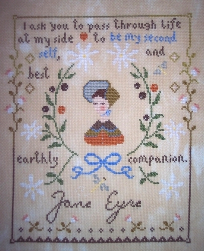 Snowflower diaries, Jane Eyre (Karine)