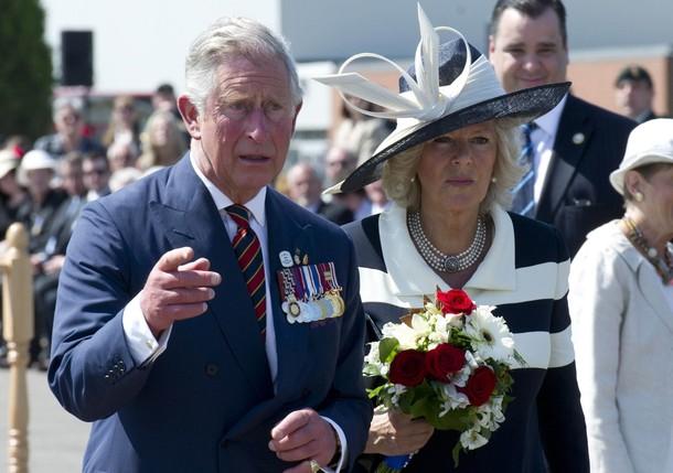 Bienvenue à Charles et Camilla