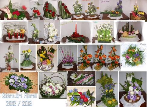 ART FLORAL Composition fleurs