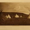 42Atsina camp scene