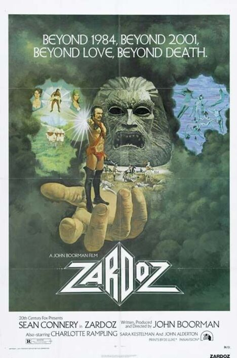 ZARDOZ BOX OFFICE USA 1974