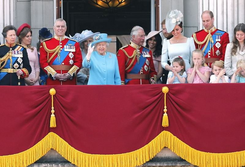 Trooping the Colour (au balcon)