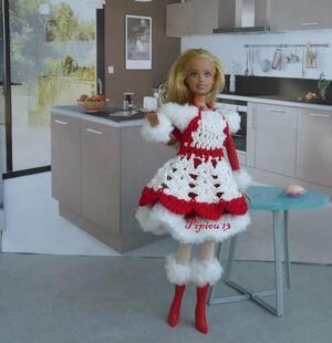 La cheminée pour Barbie