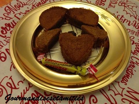 Mini gâteaux magiques aux Carambar