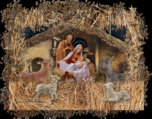 Tag Crèche de Noël