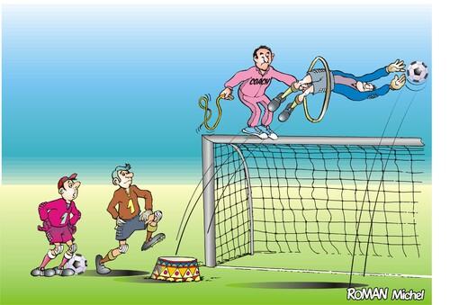 La coupe du monde en expo et en humour