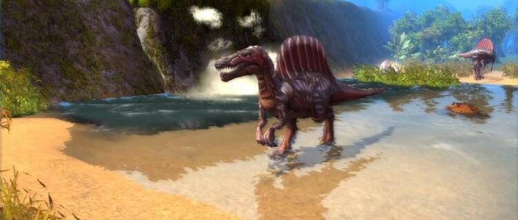 Les Dinosaures:  Le Spinosaurus, plus grand prédateur que la Terre ait connu