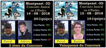 LES BONS MOMENTS DE LA SAISON 2018.
