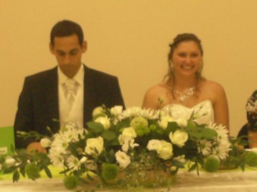 Le mariage de ma niece Marie nathalie et Benoit 8 septembre 2012