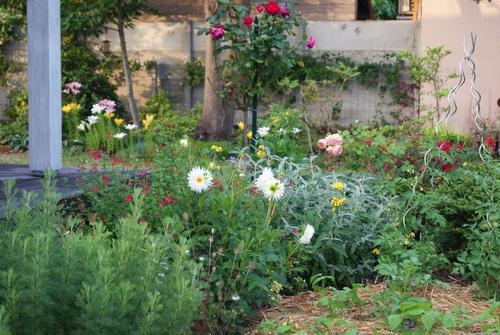 Morceaux choisis : jardin 1ère quinzaine de juillet