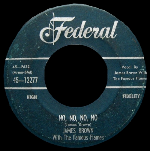 1956 James Brown Federal Records 45-12277 [ US ]